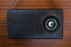 Retro sovjetradio royalty-vrije stock afbeeldingen