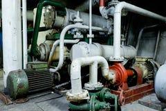 Retro spaceship engine diesel Royalty Free Stock Photos