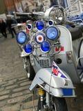 retro sparkcykel Royaltyfria Foton