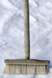 Retro spazzola dello strumento Fotografia Stock