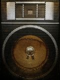Retro Speaker stock photography