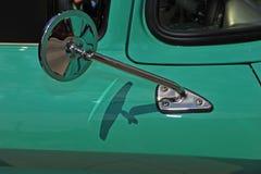 Retro specchio automobilistico Immagine Stock