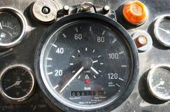 Retro Speedometer Stock Photo