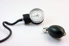Retro sphygmometer Royalty Free Stock Image