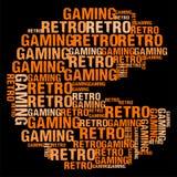 Retro- Spiel Stockfoto