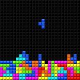 Retro- Spiel des Ziegelsteines Stockbilder