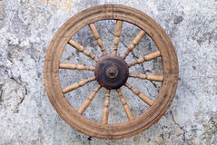 Retro Spinning Wheel Royalty Free Stock Image