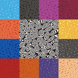 Retro spirals background Royalty Free Stock Images