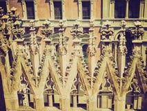 Retro spojrzenia Duomo, Mediolan Zdjęcie Royalty Free