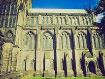Retro spojrzenia Glasgow katedra Obrazy Royalty Free