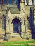 Retro spojrzenia Glasgow katedra Obraz Stock