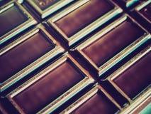 Retro spojrzenie czekolada Obraz Stock