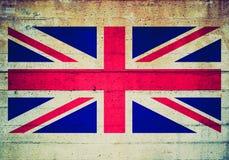 Retro spojrzenie flaga fotografia royalty free