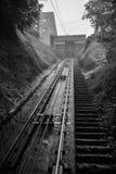 Retro spoorweg Royalty-vrije Stock Foto's