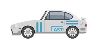 Retro sport car vector. Stock Images