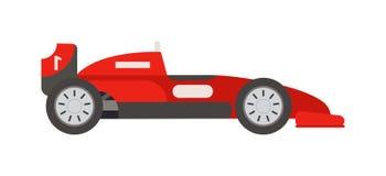 Retro sport car vector. Royalty Free Stock Photo