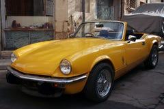 retro sport för bil Arkivbilder