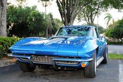Retro Sports Car Royalty Free Stock Photo