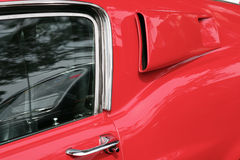 Retro sportwagen Stock Foto
