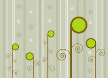 Retro Spring Background Stock Images