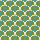 Retro spring seamless pattern. Stock Photography