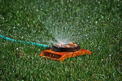 Retro Sprinkler Stock Photography