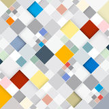 Retro Square Background. Abstract Vector Retro Square Background Royalty Free Stock Image