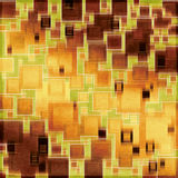 Retro square pattern design Royalty Free Stock Photography