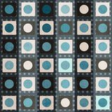 Retro square seamless pattern Stock Photos