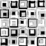 Retro Squares Royalty Free Stock Images