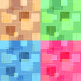 Retro squares Royalty Free Stock Photography