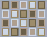 Retro squares background Royalty Free Stock Images