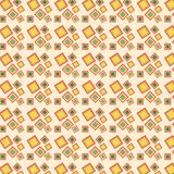 Retro squares pattern Royalty Free Stock Image