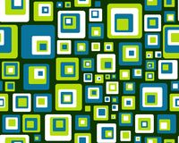 Retro stacked tile Royalty Free Stock Image
