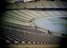 Retro stadium Royalty Free Stock Photography