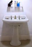 Retro stanza da bagno Fotografie Stock Libere da Diritti