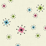 Retro Star Background Stock Photo
