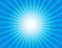 Retro star-burst background Stock Images