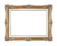 Retro starego złota rama Obrazy Royalty Free