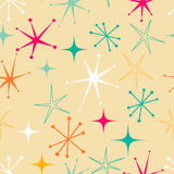 Retro stars pattern Stock Images