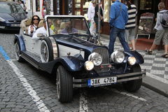 Retro stary samochód, Zdjęcia Stock