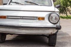 Retro stary samochodowy zderzak Fotografia Stock