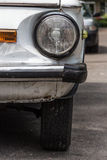 Retro stary samochodowy zderzak Zdjęcie Royalty Free