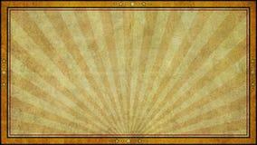 Retro Starzejąca się Papierowa tło rama w Widescreen formacie Zdjęcia Royalty Free