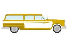Retro station wagon. Stock Photography