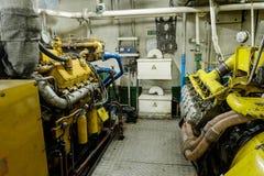 Retro statku kosmicznego silnika olej napędowy Zdjęcie Stock