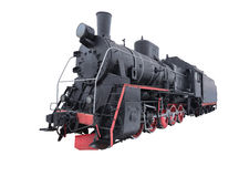 Retro steam locomotive. Stock Images
