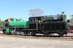 Retro steam locomotive Royalty Free Stock Photography