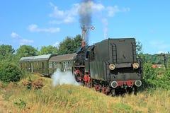 Retro steam train Royalty Free Stock Photography
