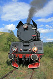 Retro steam train Royalty Free Stock Photo